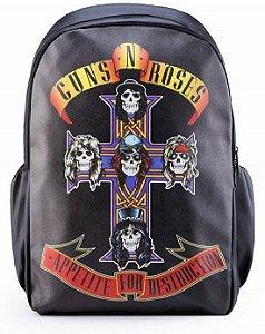 Mochila Guns N' Roses Punk Rock Madstar Pronta Entrega!