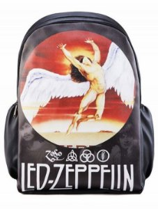 Mochila Led Zeppelin Punk Rock Madstar Pronta Entrega!