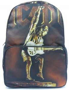 Mochila Caveira AC/DC Rock Madstar Pronta Entrega!