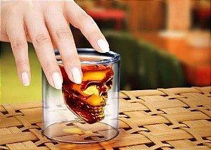 Copo Madstar Caveira Whisky Grande
