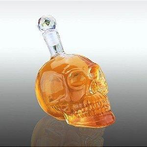 Garrafa Madstar De Caveira 1000 ml - Whisky Vodka Tequila