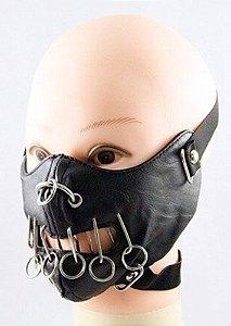 Mascara Hannibal II Madstar Couro Punk Rock