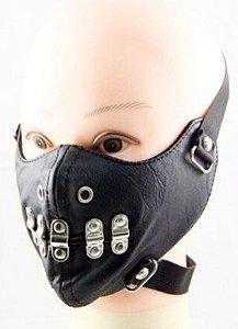 Mascara Hannibal IV Madstar Couro Punk Rock