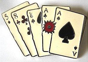 Fivela Avulsa Poker