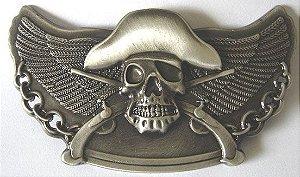 Fivela Avulsa Skull Fly