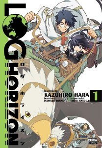 Log Horizon - Mangá Volume 01