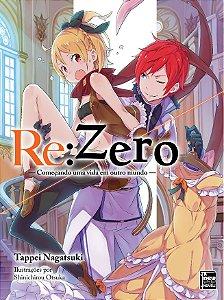 Re:Zero – Começando uma Vida em Outro Mundo Livro 08 (Pré-Venda)