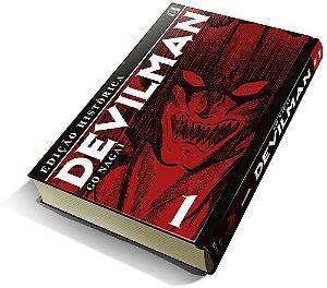 Devilman vol. 1 (Edição Histórica) com marcador de página