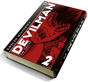 Devilman vol. 2 (Edição Histórica) com marcador de página