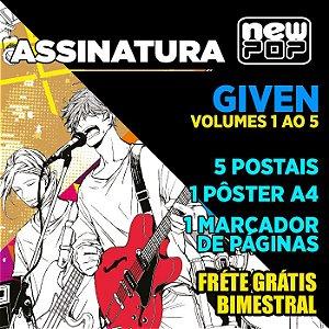 Assinatura: Given (Volumes 01 ao 05)