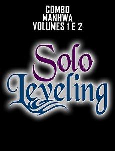 Combo Solo Leveling (Manhwa: Volume 1 e 2 + Brindes)