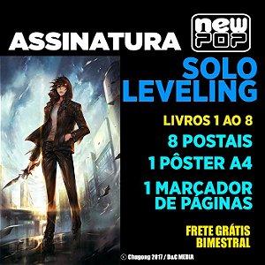 Assinatura: Solo Leveling (Livros 1 ao 8 - Completo)