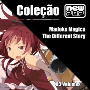 Coleção Madoka Magica: The Different Story  (Completo)