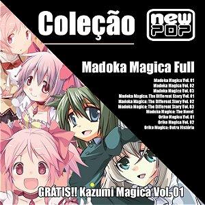 Coleção Madoka Magica Full (Grátis: Kazumi Magica Vol. 01)