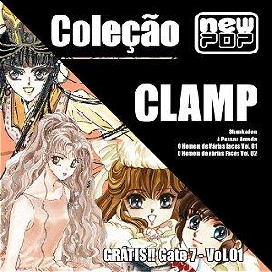 Coleção CLAMP (Grátis: Gate 7 Vol.01)