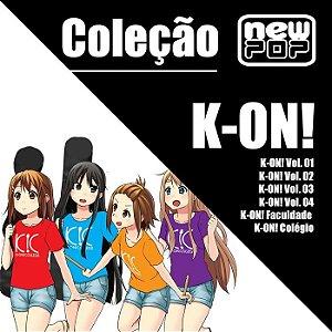 Coleção K-ON! (Completo)