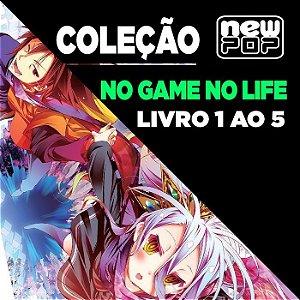 Coleção No Game No Life (Livro 1 ao 5)