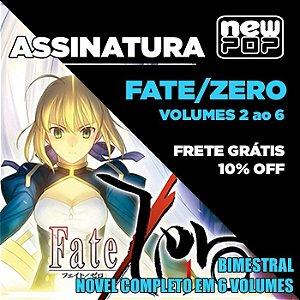 Assinatura: Fate/Zero (Volumes 2 ao 6)