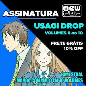 Assinatura: Usagi Drop (Volumes 8 ao 10)