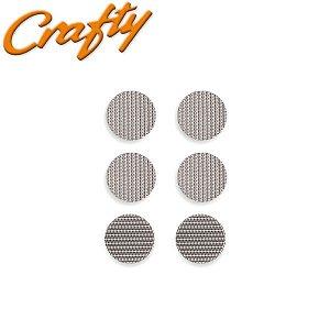 Telas - Crafty (2 grossas + 4 finas)