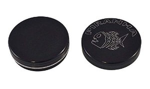 Dichavador 56mm Magnético 2 Partes Preto - Piranha