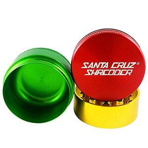 Dichavador 53mm Magnético 3 Partes Rasta - Santa Cruz