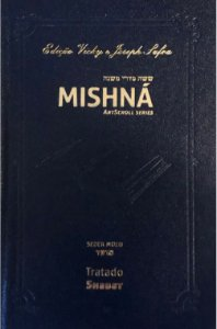 Mishná em hebraico e português - Ordem Nezikim- Tratado Shabat