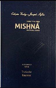 Mishná em hebraico e português - Ordem Nezikim - Tratado Eruvim