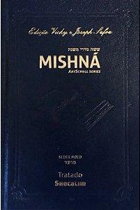 Mishná em hebraico e português - Ordem nezikim- Tratado Shecalim