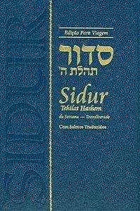 Sidur Tehilat Hashem da Semana Transliterado para Viagem