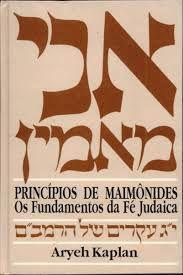 Principios de Maimonides os fundamentos da fé Judaica