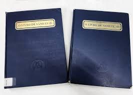 O livro de Samuel volues 1 e 2.