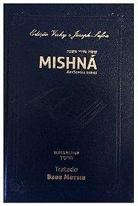 Mishná em hebraico e português - Ordem NEZIKIN - Tratado Baba Metsia