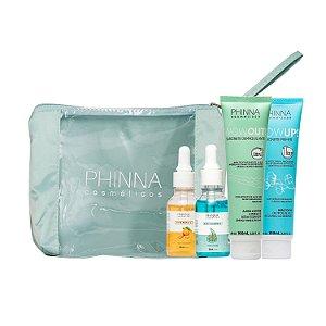 Kit Tratamento Facial (skincare) Phinna - 5 itens
