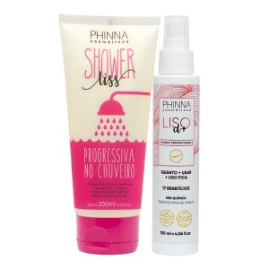 Kit Liso Prático (Shower Liss + Fluido Liso) - Phinna