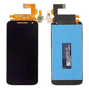 FRONTAL LCD MOTO G4 PRETO