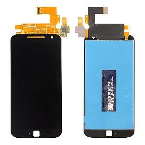 FRONTAL LCD MOTO G4 PLUS PRETO