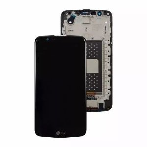 FRONTAL LCD LG K10 K410 K420 K430 PRETO (COM ESCRITA)