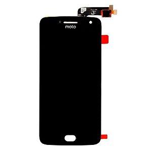 FRONTAL LCD MOTO G5 PRETO