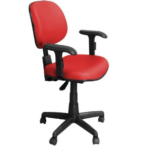 Cadeira Executiva Ergonômica Giratória Regulagem Altura, Braços e Encosto LE-ERGO - Pethiflex