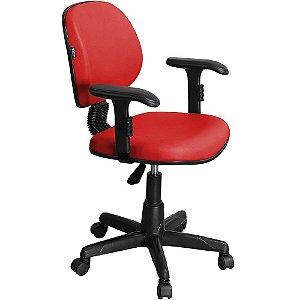 Cadeira Executiva Giratória com Braços Digitador Regulável LE01 - Pethiflex