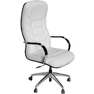 Cadeira Magnífica Luxo Branca com Costura Preta para Clínicas MG1-W - Pethiflex