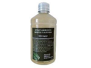 Refil Spray Ambiente Menta e Alecrim 500ml