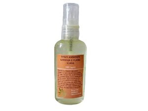 Spray Ambiente Laranja e Ylang Ylang 60ml
