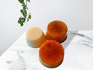 Kombo 2 Xampus Camomila, Cúrcuma e Argan + Condicionador Sólido Murumuru e Lavanda