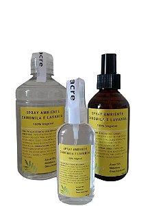 Kit Spray Ambiente Camomila e Lavanda