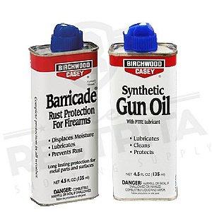 Kit Conservação Anti-Corrosivo Barricade + Lubrificante Gun Oil