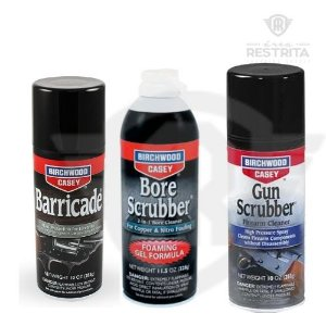 BORE SCRUBBER GEL + GUN SCRUBBER + BARRICADE ANTI-FERRUGEM SPRAY