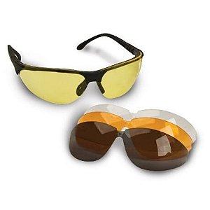 Oculos Balistico p/ Tiro - 4 Lentes intercambiavel - Walkers