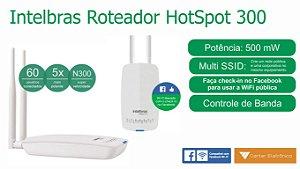 ROTEADOR HOTSPOT 300 Mbps INTELBRÁS CHECK-IN FACEBOOK